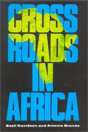 Cover of: Crossroads in Africa
