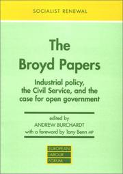 Cover of: Broyd papers | Dennis Broyd