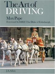 Cover of: The Art of Driving