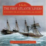 Cover of: first Atlantic liners | Peter Allington