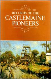 Cover of: Records of the Castlemaine pioneers. |