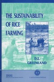The sustainability of rice farming by D. J. Greenland