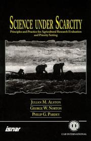 Cover of: Science under scarcity