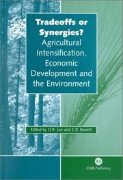 Cover of: Tradeoffs or Synergies? |