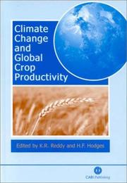 Cover of: Climate change and global crop productivity |