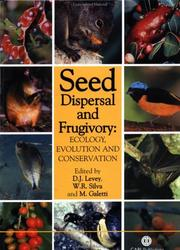 Cover of: Seed Dispersal and Frugivory |