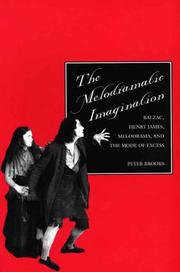 Cover of: The melodramatic imagination