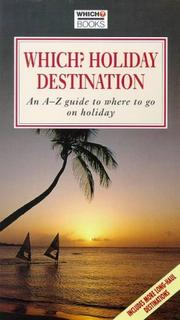 Cover of: Which? Holiday Destination | Which Editioral
