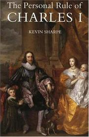 Cover of: The personal rule of Charles I