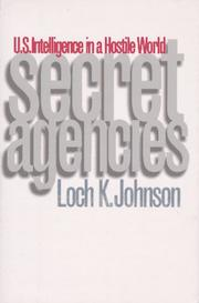 Cover of: Secret agencies | Loch K. Johnson
