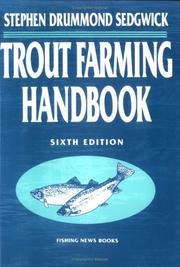 Cover of: Trout farming handbook