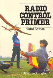 Radio control primer by David Boddington