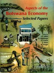 Cover of: Aspects of the Botswana Economy | J. S. Salkin