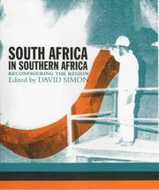 Cover of: South Africa in Southern Africa