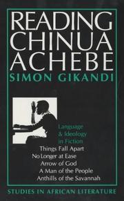 Cover of: Reading Chinua Achebe