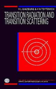 Cover of: Transition radiation and transition scattering