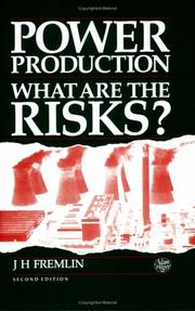 Cover of: Power production