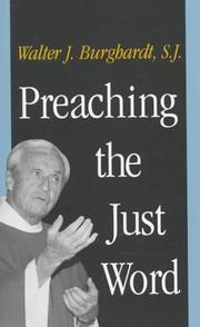 Cover of: Preaching the just word