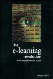 Cover of: The E-learning Revolution (Developing Practice)