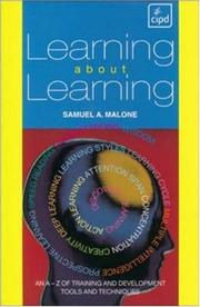Cover of: Learning About Learning