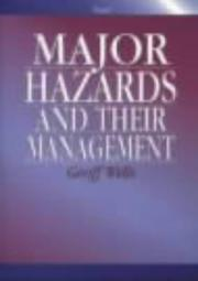 Cover of: Major hazards and their management