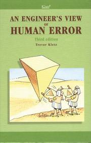 Cover of: An Engineer's View of Human Error   - IChemE