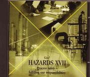 Cover of: Hazards XVII | Conference Proceedings