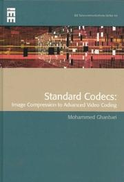 Cover of: Standard Codecs | M. Ghanbari