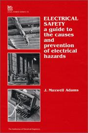 Cover of: Electrical safety