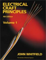 Cover of: Electrical Craft Principles | Whitfield, John