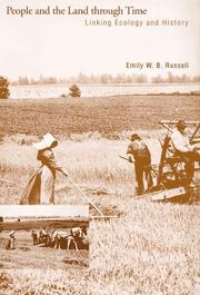 Cover of: People and the land through time | Emily Wyndham Barnett Russell