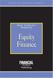 Cover of: Equity Finance