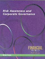 Cover of: Risk Awareness and Corporate Governance