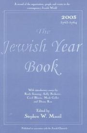 Cover of: The Jewish Year Book 2003