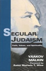 Cover of: Secular Judaism