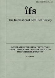 Cover of: An African Experience (Proceedings of the International Fertiliser Society)