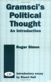 Cover of: Gramsci's Political Thought
