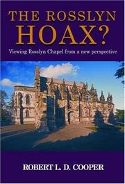 Cover of: The Rosslyn Hoax?