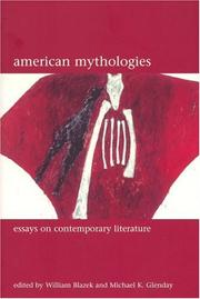 Cover of: American Mythologies |