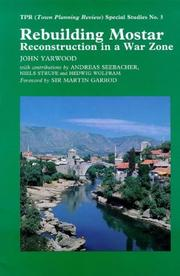 Cover of: Rebuilding Mostar
