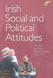 Cover of: Irish Social and Political Attitudes |