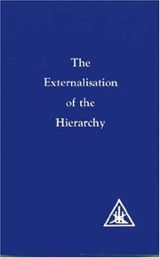 Cover of: Externalisation of the Hierarchy