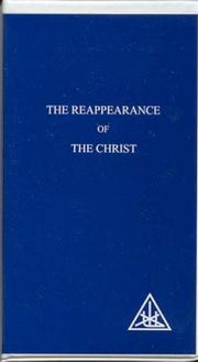 Cover of: The reappearance of the Christ