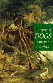 Cover of: A history of dogs in the early Americas