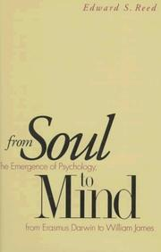 Cover of: From soul to mind