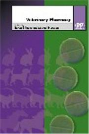 Cover of: Veterinary Pharmacy |