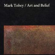 Cover of: Mark Tobey