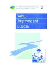 Cover of: Waste treatment and disposal