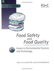 Cover of: Food Safety and Food Quality (Issues in Environmental Science and Technology) |