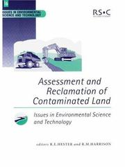 Cover of: Assessment and reclamation of contaminated land